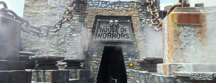 Universal's House of Horrors is one of US TRAVELS LA.