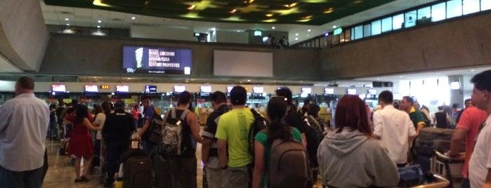 Ninoy Aquino International Airport (MNL) Terminal 1 is one of สนามบินนานาชาติ (1).