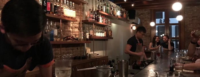 Native is one of World's 50 Best Bars 2017.