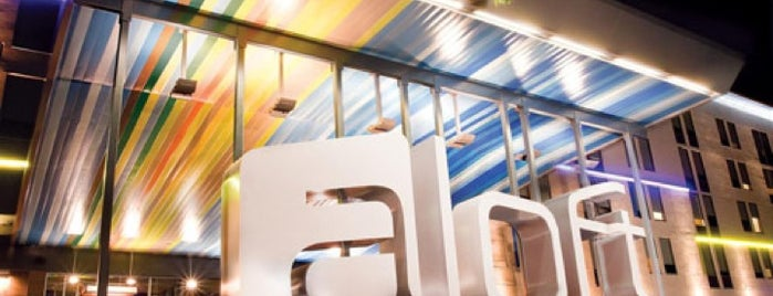 Aloft Philadelphia Airport is one of Lugares favoritos de Kevin.