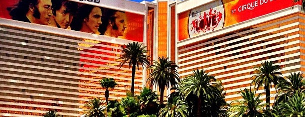 The Mirage Hotel & Casino is one of Las Vegas.