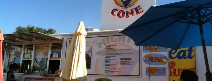 The Mighty Cone is one of Austin, TX.