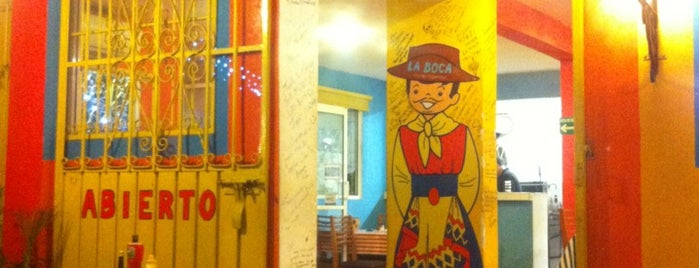 La Boca is one of Restaurantes en los que he comido!!!.