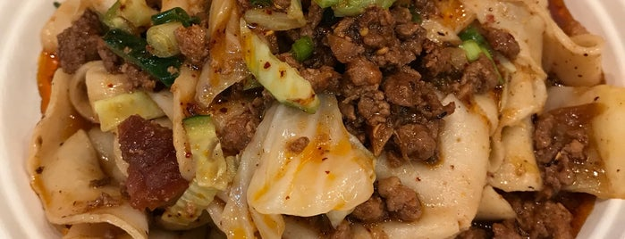 Xi'an Famous Foods is one of Posti che sono piaciuti a Sarah.
