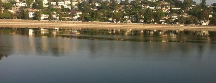Silver Lake Reservoir is one of 87 Free Things To Do in LA.