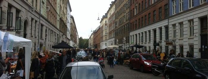 Loppemarked Jægersborggade is one of Copenhagen.