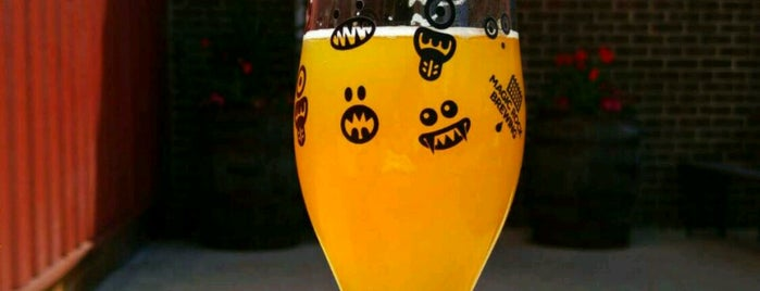 Magic Rock Brewery is one of Beer / Ratebeer's Top 100 Brewers [2017].