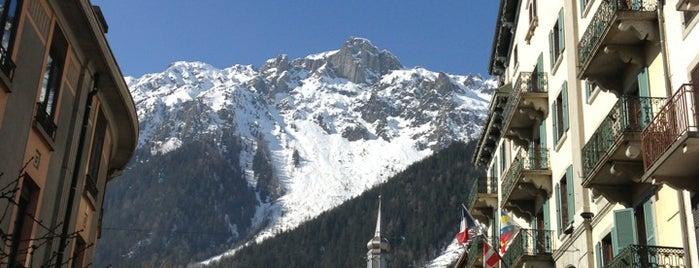 Chamonix-Mont-Blanc is one of Bienvenue en France !.