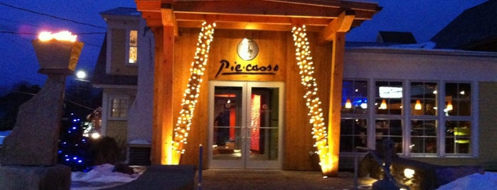 Piecasso Pizzeria & Lounge is one of Vermont.