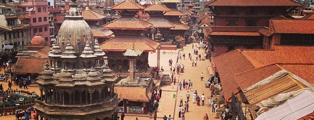 Patan Durbar Square is one of Kat man D.