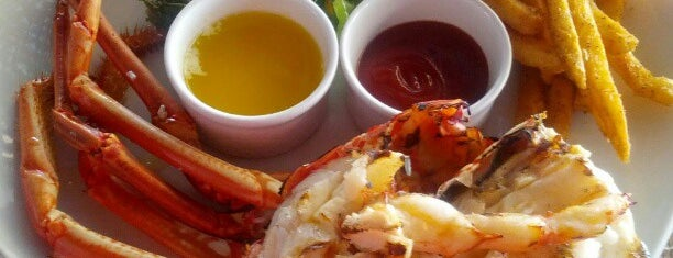 Lobster Alive is one of Barbados.