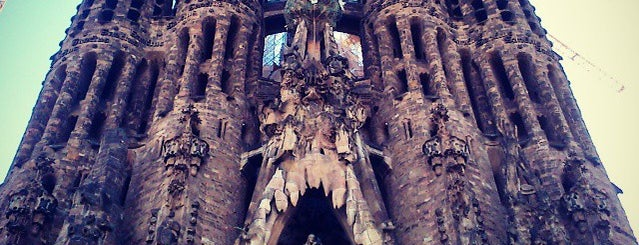 Sagrada Família is one of A quick trip through Barcelona.