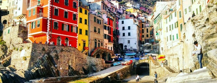 Riomaggiore is one of Italy.