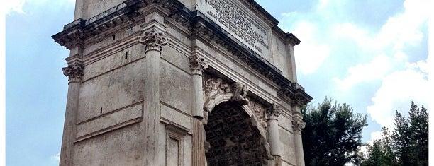 Arco di Tito is one of Rome / Roma.