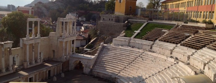Античният театър на Филипопол (The ancient theatre of Philippopolis) is one of Tempat yang Disukai Carl.