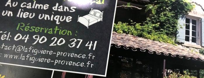 Restaurant La Figuière is one of Provence France.