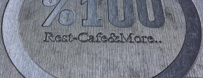 %100 Rest Cafe & More is one of Veni Vidi Vici İzmir 1.