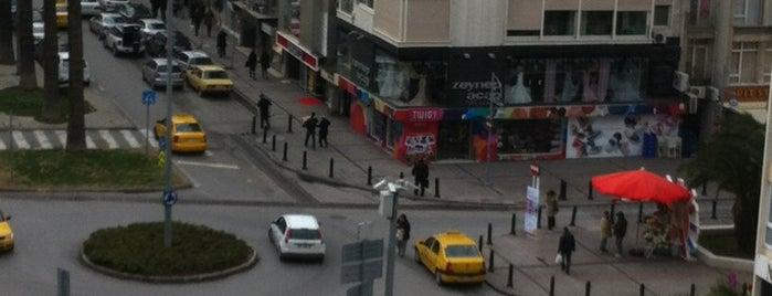 Alsancak is one of İzmir :).