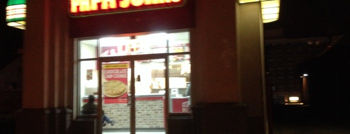 Papa John's Pizza is one of Jared's Liked Places.