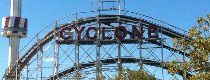The Cyclone is one of Saturday adventures.