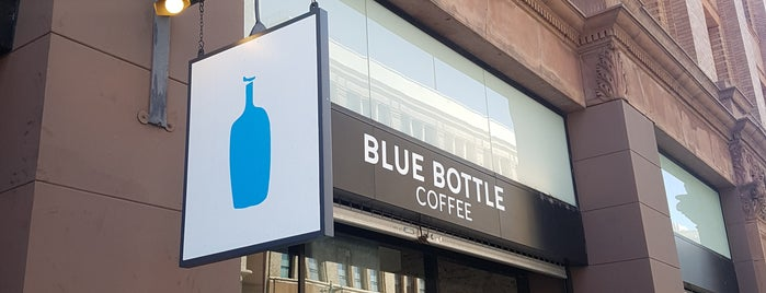Blue Bottle Coffee is one of L.A. Coffeeshops for LANG.