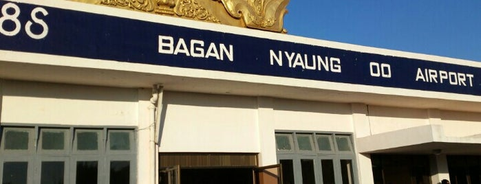 Nyaung U Airport is one of Leaving on a jet plane....