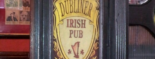 The Dubliner is one of My FAV Hot Spots.