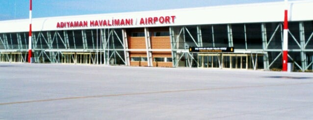 Adıyaman Havalimanı (ADF) is one of HAVALİMANLARI /  AİRPORTS  All The World.