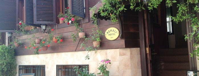 Asmali Hotel Istanbul - Oldcity Sultanahmet is one of Tempat yang Disimpan Γιεσιμ.