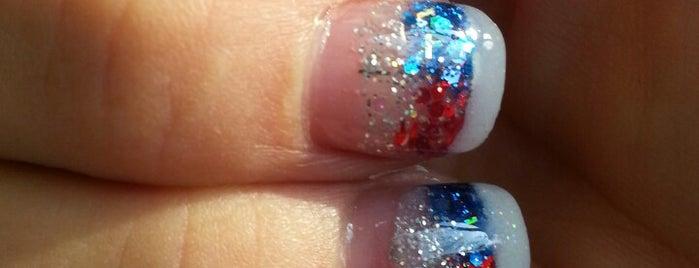 N K Spa Nails is one of Locais curtidos por Kristen.