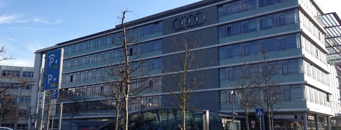 Audi AG is one of Angelegte Spots.