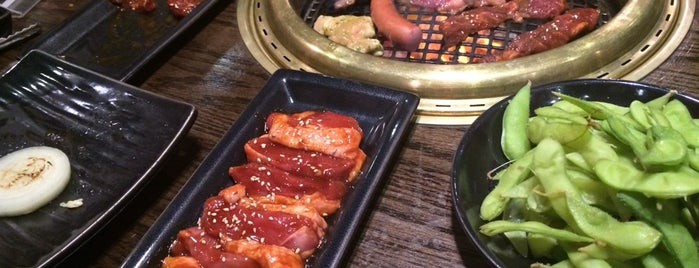 Gyu-Kaku Japanese BBQ is one of NYC Food.