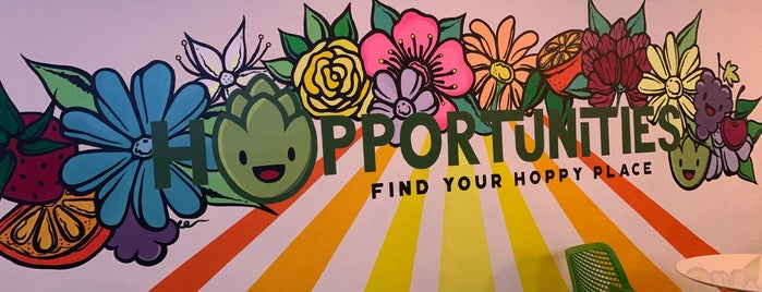 Hopportunities Craft Beer Hall is one of South Florida.