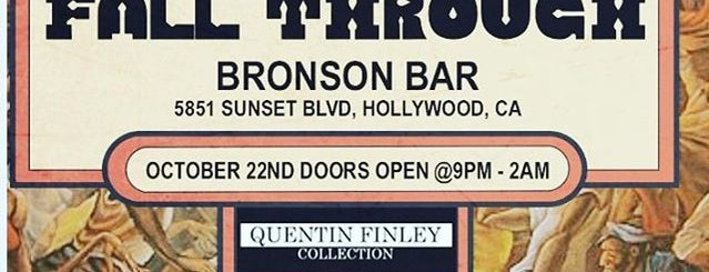 The Bronson is one of Must-visit Bars in Hollywood.