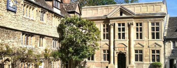 St. Edmund Hall is one of London Favorites.