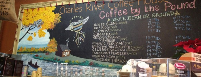 Charles River Coffee House is one of Jared's Liked Places.