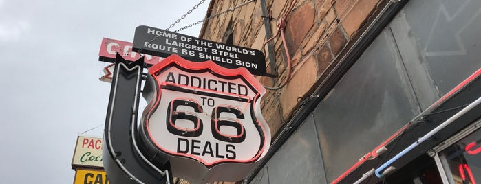 Addicted to 66 Deals is one of Route 66 Roadtrip.