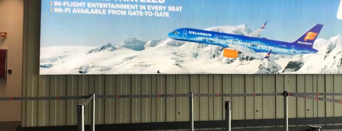 Icelandair Check-in is one of Lugares favoritos de Nedim.