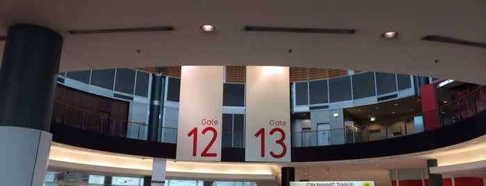 Gate 13 is one of World AirPort.