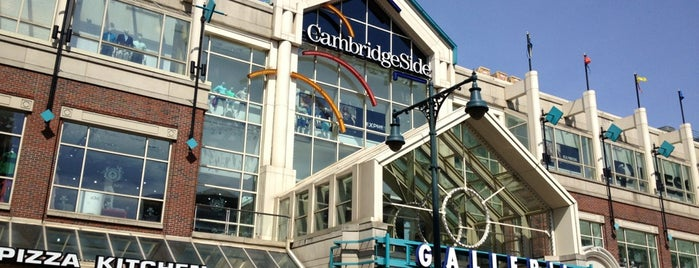 CambridgeSide Galleria is one of FAMILY TRAVEL PLANS.
