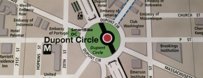 Dupont Circle is one of DC Metro.