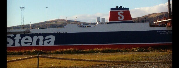 Stena Line Ferry Belfast-Stranraer is one of The #AmazingRace 22 map.
