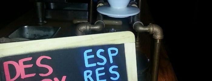 French Press & Espresso Bar is one of work.