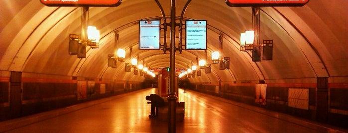 metro Ligovsky Prospekt is one of สถานที่ที่ Юлия ถูกใจ.