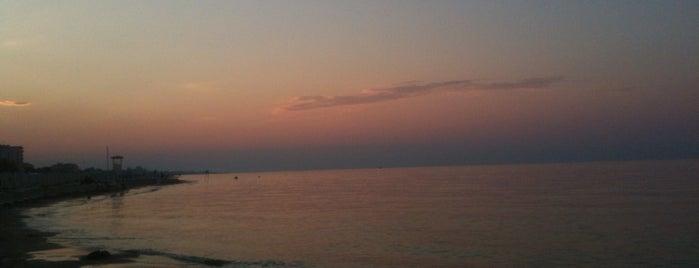Spiaggia di Riccione is one of Rosa'nın Beğendiği Mekanlar.