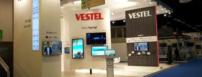 Vestel Booth AngaCable 2013 is one of Orte, die Ugur gefallen.