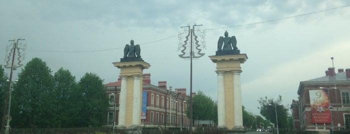 Ингербургские ворота is one of Locais curtidos por MaMa Roma.