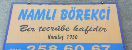 Namlı Börekçi is one of Lugares favoritos de Korhan.