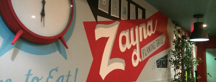 Zayna Flaming Grill is one of Locais salvos de ashley may.