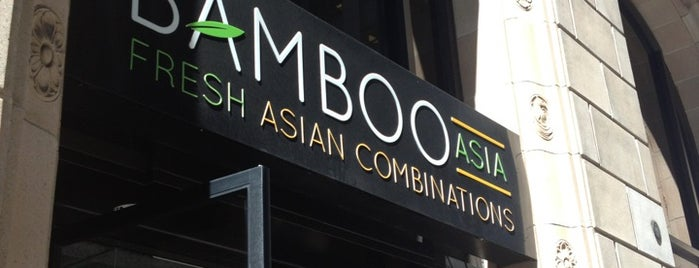 Bamboo Asia is one of Locais curtidos por Amanda.